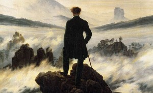 C. D. Friedrich, Der Wanderer über dem Nebelmeer