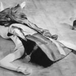 Italienische Tote, Zeichnung (nicht in der Ausstellung)